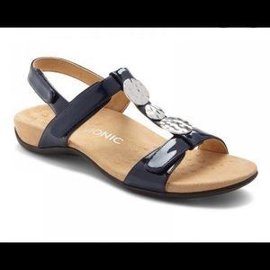 Vionic Farra Flat navy sandal